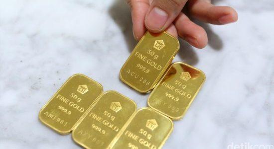 Bisa Beli Berapa Gram Emas Batangan?