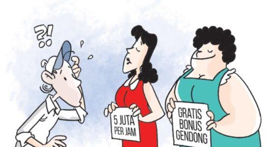 Perputaran Uang di Bisnis Prostitusi RI Capai Rp32 Triliun?