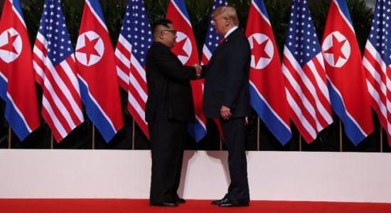Trump-Kim Jong-un Dihelat di Negara Asia