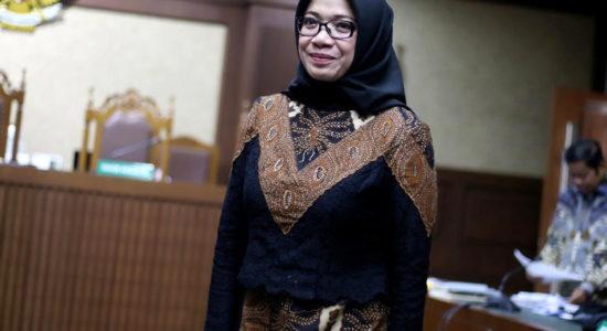 Jaksa Minta Hakim Tolak JC Eni Saragih di Kasus Suap PLTU Riau-1