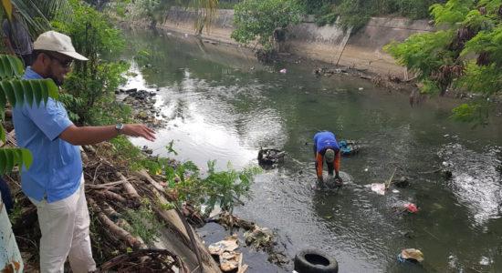 Aliran Sungai Krueng Doy Mulai Dibersihkan