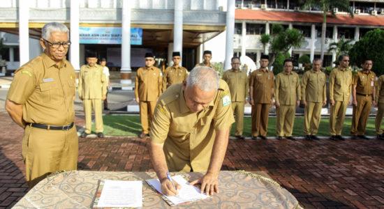 Plt Sekda Instruksikan ASN di Aceh Netral