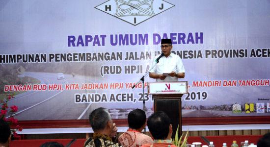 Andalkan HPJI untuk Pembangunan Infrastruktur