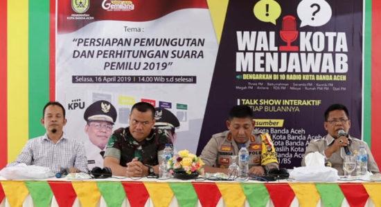 Banda Aceh Siap Gelar Pemilu 2019