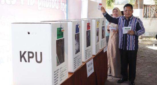 Aminullah Usman Keliling Kota Pantau TPS