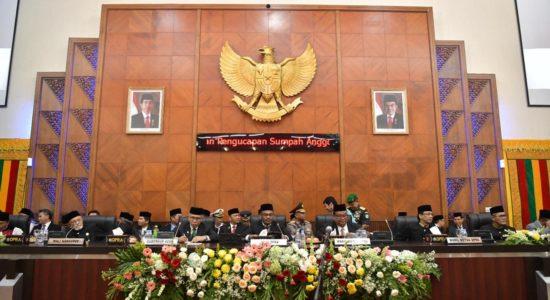 DPRA Menetapkan 50 Qanun Aceh Selama Satu Periode