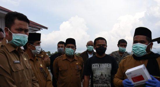 Bupati Bener Meriah Terima APD dari Pemerintah Aceh