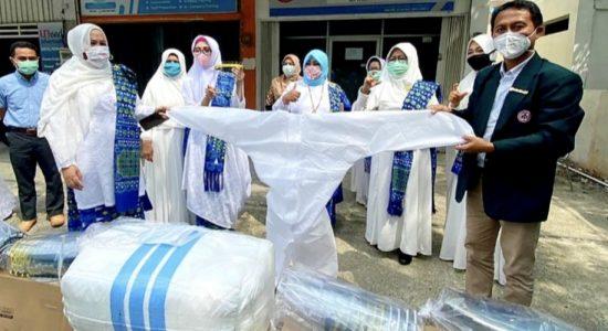 BKMT Aceh Sumbang APD untuk Tenaga Medis