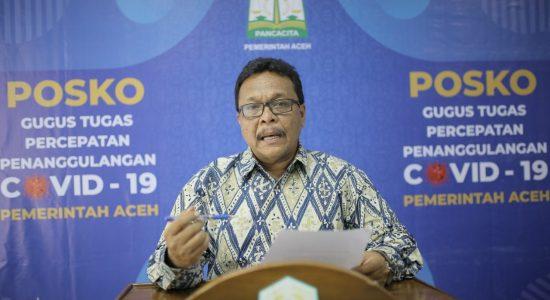 ODP di Aceh Mencapai 1003 Kasus