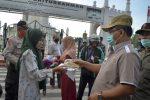 Wali Kota Kembali Pimpin Razia Masker