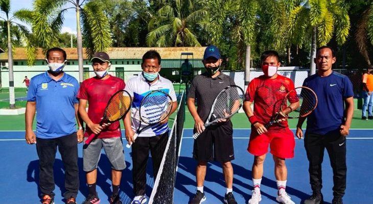 Aminullah Tenis Silaturrahmi dengan Pangdam Iskandar Muda