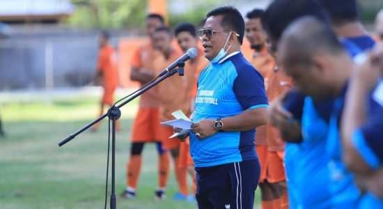 Aminullah Launching Walking Football Indonesia Aceh