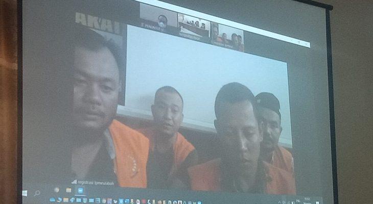 Empat Pengeroyok Wartawan ANTARA Dihukum Lima Bulan Penjara
