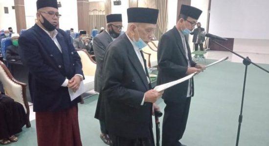Abu Daud Zamzami Resmi Dikukuhkan Jadi Ketua MPU Aceh