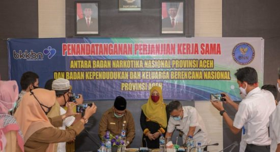 TP PKK Aceh Apresiasi Kerjasama BNN dan BKKBN
