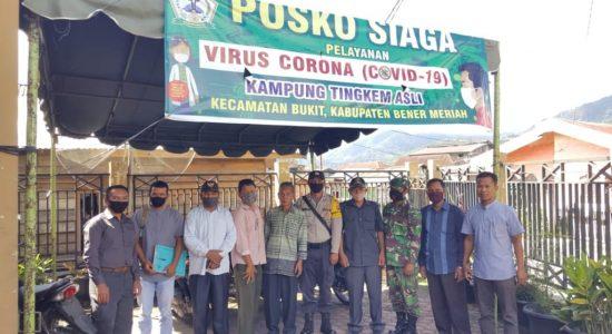 22 Kepala keluarga di Kampung Tingkem Asli Terima BLT