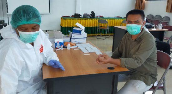 12 Anggota DPRK Bener Meriah Ikut Rapid Test