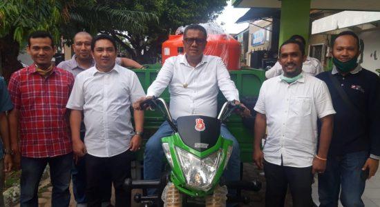Wabup Pidie Terima Bantuan Motor Sampah dari Presiden