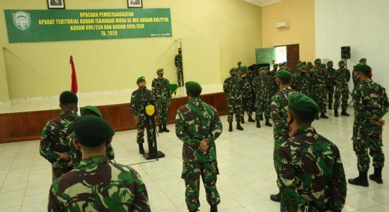 68 Prajurit Kodam IM Ditugaskan ke Wilayah Timur Indonesia