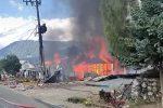 Kebakaran Hanguskan Empat Rumah di Aceh Tengah