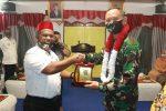Abusyik Sambut Kunker Danrem 011/Lilawangsa