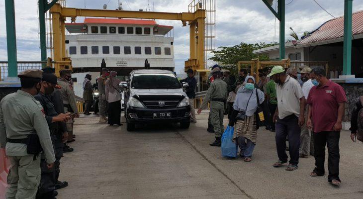 Satpol PP dan WH Aceh Perketat Patroli Hingga ke Pelabuhan