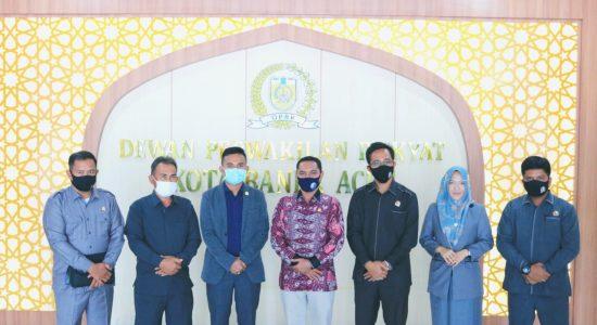 DPRK Banda Aceh Terima Kunker Dewan Nagan Raya