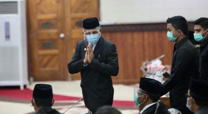 Pelantikan Gubernur Definitif Sempurnakan Hak Interpelasi DPRA