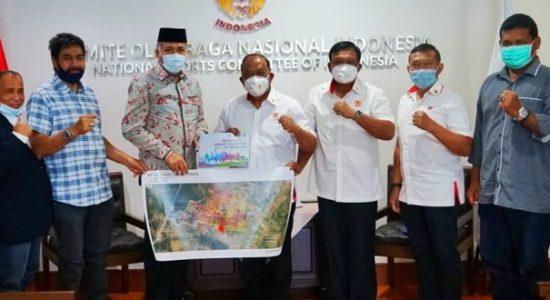 Plt Gubernur Aceh Gelar Pertemuan dengan Ketum KONI Pusat
