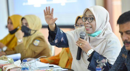 Komisi IV Gelar RDPU Rancangan Qanun Kota Layak Anak
