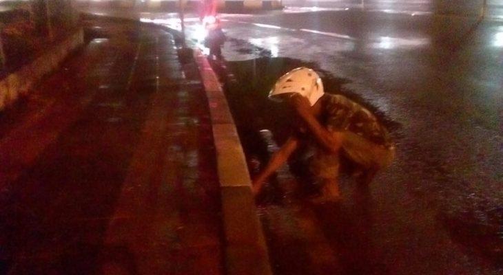 TRC PUPR Banda Aceh Atasi Genangan Air