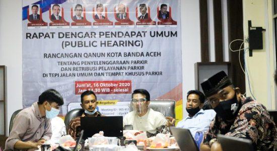 Raqan Parkir Non Tunai untuk Modernisasi Pengelolaan Parkir di Banda Aceh