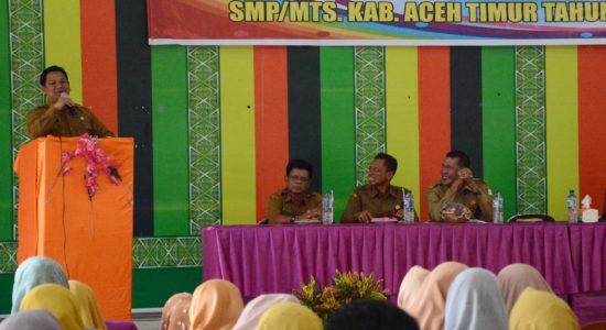 Sekda Buka Pelatihan UKS di Aceh Timur