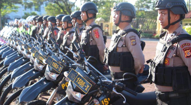 Polresta Banda Aceh Kerahkan 300 Personel Pengamanan Malam Lebaran