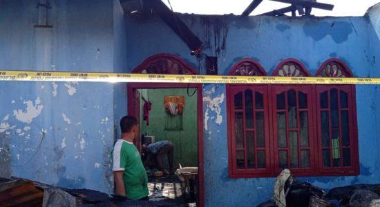 3 Unit Rumah Hangus Dilalap Sijago Merah
