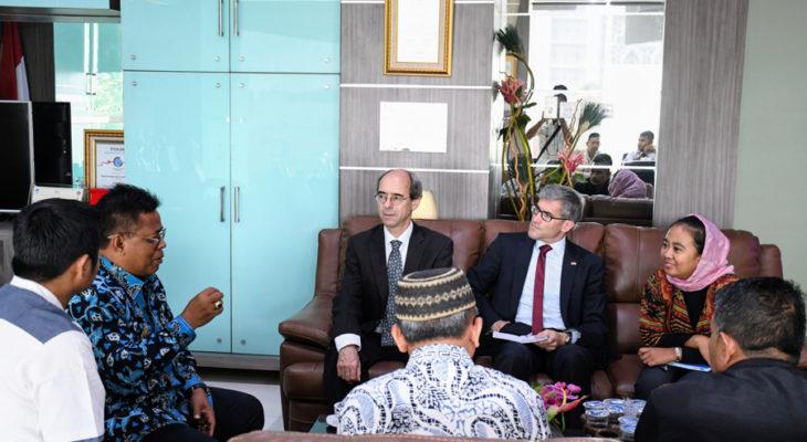 Dubes Swiss Kagum dengan Pembangunan Banda Aceh