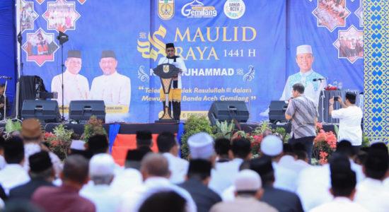40 Ribu Undangan Meriahkan Maulid Raya Pemko Banda Aceh