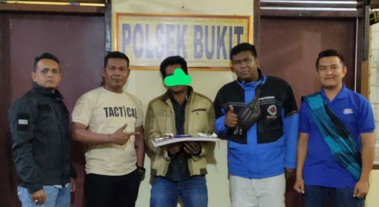 Pria Kecamatan Bukit Diringkus Polisi