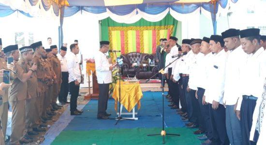 Bupati Nagan Raya Lantik Tuha Peut Kecamatan Seunagan Timur