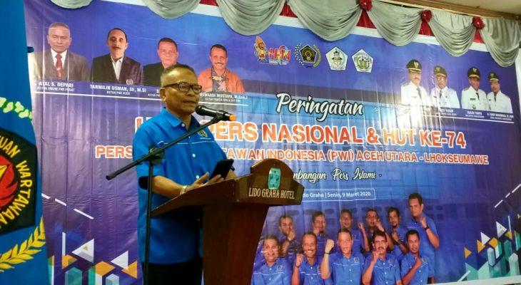 PWI Aceh Utara – Lhokseumawe Gelar Peringatan HPN