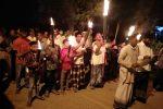Warga Gla Keliling Kampung sambil Lantunkan Doa Tolak Bala
