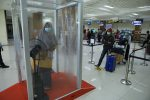 Spesimen PDP Covid-19 Dikirim ke Jakarta Melalui Bandara SIM