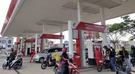 Lebaran, Konsumsi Bensin dan Elpiji di Aceh Meningkat