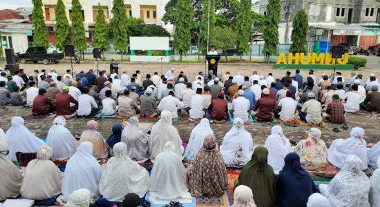 PW Muhammadiyah Aceh Gelar Sholat Ied di Kampus Unmuha