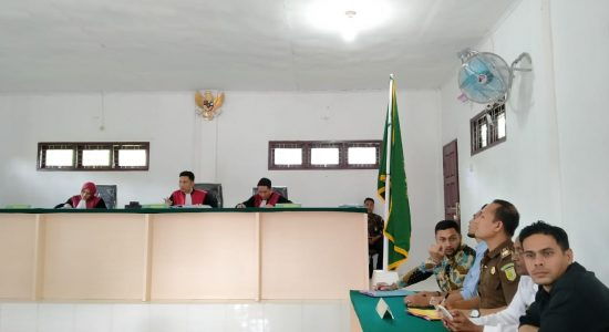 Majelis Hakim PN Suka Makmue Tolak Gugatan Terhadap Pemda Nagan Raya
