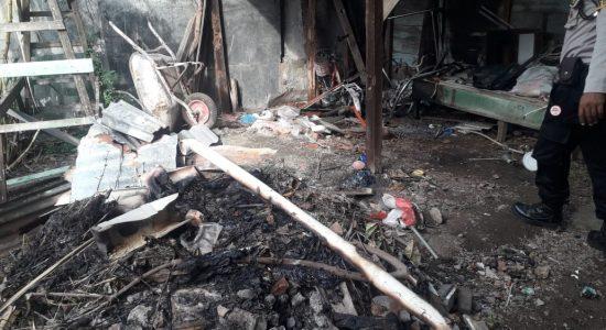 Satu Unit Rumah di Gampong Keuramat Terbakar