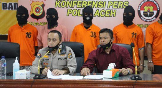 Polda Aceh Ungkap Peredaran Narkoba