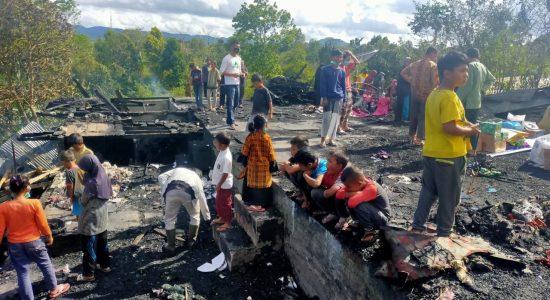 Korban Kebakaran Minta Pemerintah Berlaku Adil