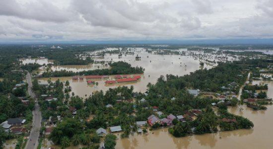 Empat Perahu Karet Disiagakan di Kota Lhoksukon