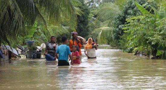 Ribuan Warga Aceh Utara Mengungsi